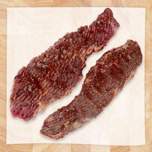 Beef BBQ Steak Marinated