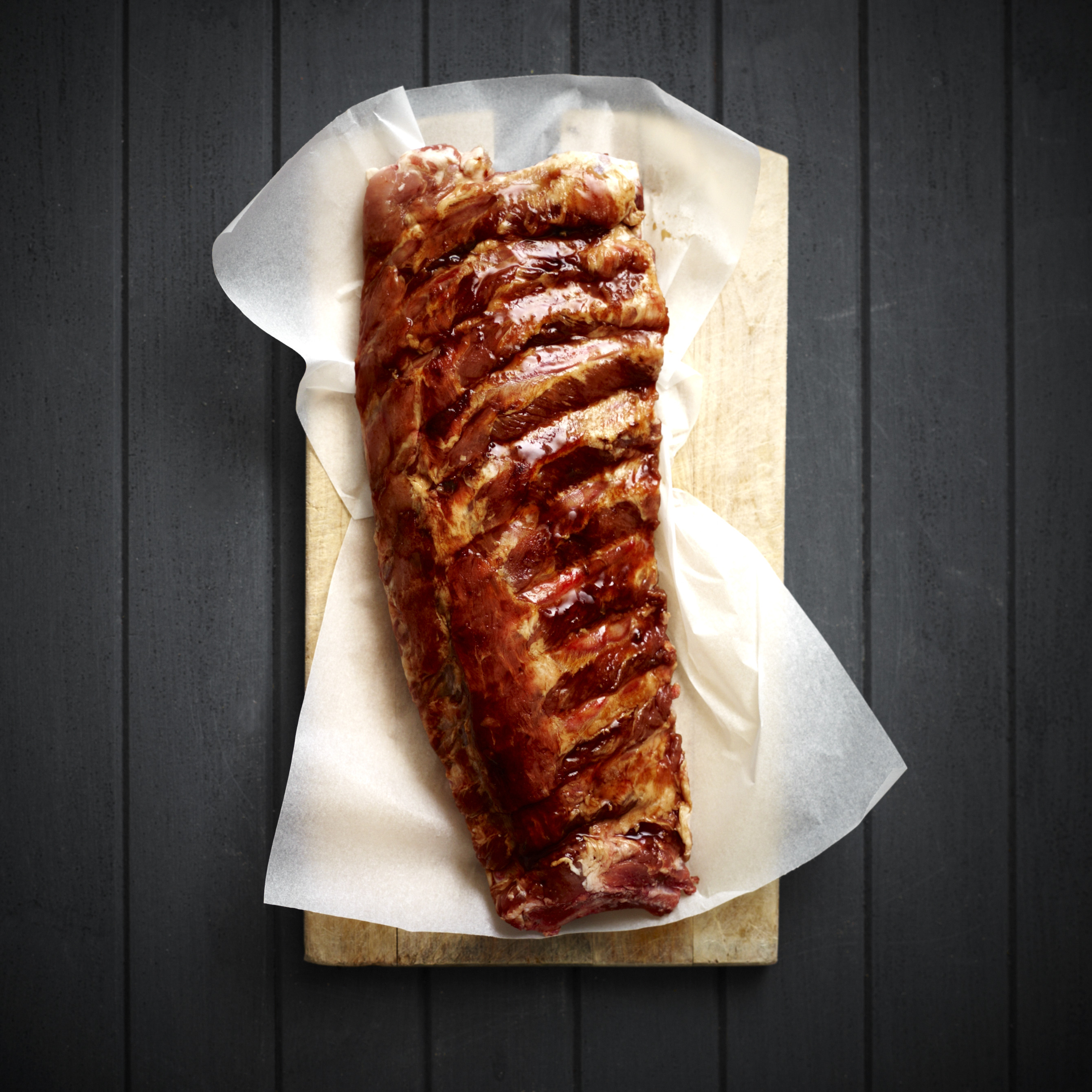 How much does 1 spare rib weight