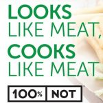 100% NOT MEAT
